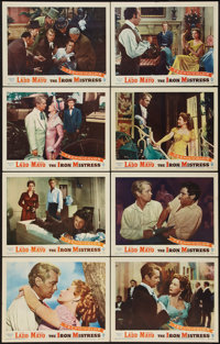 "The Iron Mistress (Warner Brothers, 1952). Lobby Card Set of 8 (11"" X 14""). Western. ... (Total: 8 Items)"