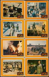 """The Green Berets (Warner Brothers, 1968). Lobby Card Set of 8 (11"""" X 14""""). War. ... (Total: 8 Items)"""