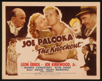 "Joe Palooka in The Knockout (Monogram, 1947). Title Lobby Card (11"" X 14""). Sports"