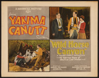 "Wild Horse Canyon (Goodwill Production, 1925). Title Lobby Card (11"" X 14""). Western"