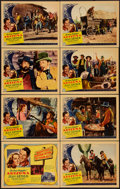 "Movie Posters:Western, Arizona (Columbia, 1940). Lobby Card Set of 8 (11"" X 14"").Western.. ... (Total: 8 Items)"