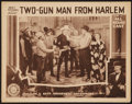 "Movie Posters:Black Films, Two-Gun Man from Harlem (Sack Amusement Enterprises, 1938). LobbyCard (11"" X 14""). Black Films.. ..."