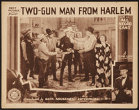 "Two-Gun Man from Harlem (Sack Amusement Enterprises, 1938). Lobby Card (11"" X 14""). Black Films"