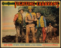 "Movie Posters:Western, Fighting Caravans (Paramount, 1931). Lobby Card (11"" X 14""). Western.. ..."