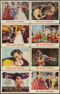 "Movie Posters:Musical, The Glass Slipper (MGM, 1955). Lobby Card Set of 8 (11"" X 14"").Musical.. ... (Total: 8 Items)"
