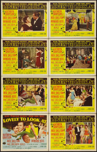 """Lovely to Look At (MGM, 1952). Lobby Card Set of 8 (11"""" X 14""""). Musical. ... (Total: 8 Items)"""