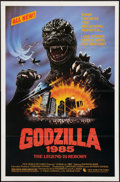 "Movie Posters:Science Fiction, Godzilla 1985 (New World Pictures, 1985). One Sheet (27"" X 41""). Science Fiction.. ..."