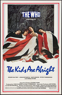 """The Kids Are Alright (New World, 1979). One Sheet (27"""" X 41""""). Rock and Roll"""