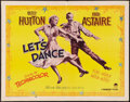 "Movie Posters:Musical, Let's Dance (Paramount, 1950). Half Sheet (22"" X 28"") Style B.Musical.. ..."