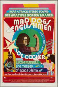 """Mad Dogs & Englishmen (MGM, 1971). One Sheet (27"""" X 41""""). Rock and Roll"""