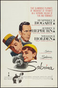 "Movie Posters:Romance, Sabrina (Paramount, R-1962). One Sheet (27"" X 41""). Romance.. ..."