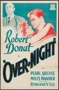 """Movie Posters:Crime, That Night in London (Mundus, R-1934). One Sheet (27"""" X 41""""). Crime.. ..."""