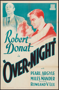 "That Night in London (Mundus, R-1934). One Sheet (27"" X 41""). Crime"