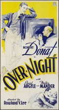 """Movie Posters:Crime, That Night in London (Mundus, R-1934). Three Sheet (41"""" X 81""""). Crime.. ..."""