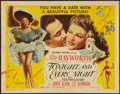 """Movie Posters:Musical, Tonight and Every Night (Columbia, 1945). Half Sheet (22"""" X 28"""").Musical.. ..."""