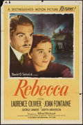 """Movie Posters:Hitchcock, Rebecca (United Artists, R-1946). One Sheet (27"""" X 41"""").Hitchcock.. ..."""