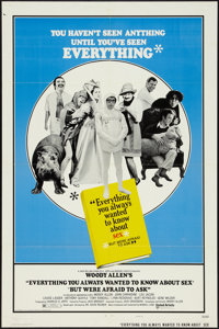 "Everything You Always Wanted to Know About Sex, But Were Afraid to Ask (United Artists, 1972). One Sheet (27"" X 41&..."
