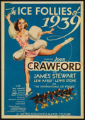 """Movie Posters:Musical, The Ice Follies of 1939 (MGM, 1939). Midget Window Card (8"""" X11.5""""). Musical.. ..."""