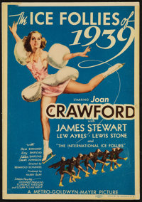 "The Ice Follies of 1939 (MGM, 1939). Midget Window Card (8"" X 11.5""). Musical"