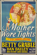 "Movie Posters:Musical, Mother Wore Tights (20th Century Fox, 1947). One Sheet (27"" X 41""). Musical.. ..."