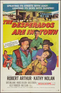 """The Desperados Are in Town (20th Century Fox, 1956). One Sheet (27"""" X 41""""). Western"""