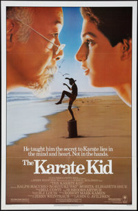 "The Karate Kid (Columbia, 1984). One Sheet (27"" X 41""). Sports"