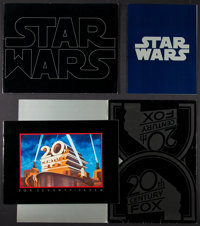 """Star Wars (20th Century Fox, 1977). Exhibitor Mailers (2) (28 Pages, 11"""" X 14"""" & 24 Pages, 10"""" X..."""