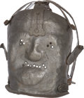 Antiques:Antiquities, Reproduction 17th-Century Insanity Mask.... (Total: 49 )