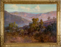 Fine Art - Painting, American:Modern  (1900 1949)  , JOHN BOND FRANCISCO (American, 1863-1931). The Foothills ofCalifornia, Tejon Ranch, circa 1929. Oil on canvas. 33-1/2 x...