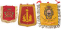Militaria:Insignia, Lot of Three Assorted Military Regalia.... (Total: 3 )