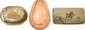 Antiques:Antiquities, Lot of Three Collectible Snuff Boxes.... (Total: 3 Items)