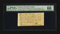 Colonial Notes:North Carolina, North Carolina December, 1771 £1 PMG Gem Uncirculated 66 EPQ.. ...
