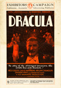 "Movie Posters:Horror, Dracula (Universal, 1931). Uncut Pressbook (8 Pages, 13.5"" X19.5"").. ..."