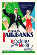 "Movie Posters:Comedy, Reaching for the Moon (United Artists, 1930). One Sheet (27"" X41"").. ..."