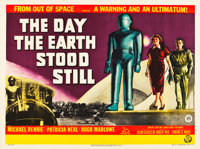 "The Day the Earth Stood Still (20th Century Fox, 1951). British Quad (30"" X 40"")"