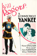 "Movie Posters:Comedy, A Connecticut Yankee (Fox, 1931). One Sheet (27"" X 41"").. ..."