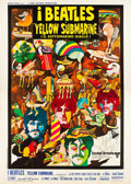 "Movie Posters:Animation, Yellow Submarine (United Artists, 1969). Italian 4 - Foglio (55"" X78"").. ..."
