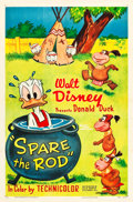 "Movie Posters:Animation, Spare the Rod (RKO, 1954). One Sheet (27"" X 41"").. ..."