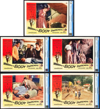 "Invasion of the Body Snatchers (Allied Artists, 1956). CGC Graded Lobby Cards (5) (11"" X 14""). ... (Total: 5 I..."