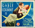 "Movie Posters:Academy Award Winners, It Happened One Night (Columbia, 1935). Autographed Title LobbyCard (11"" X 14"").. ..."
