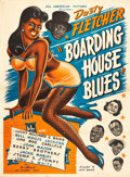 "Movie Posters:Black Films, Boarding House Blues (All-American Pictures, 1948). Poster (40.5"" X56"").. ..."