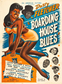"Boarding House Blues (All-American Pictures, 1948). Poster (40.5"" X 56"")"