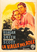 "Movie Posters:Drama, Stallion Road (Warner Brothers, 1947). Italian 2 - Foglio (39"" X55"").. ..."