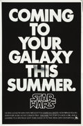 "Movie Posters:Science Fiction, Star Wars (20th Century Fox, 1977). One Sheet (27"" X 41"") MylarAdvance.. ..."