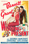 "Movie Posters:Comedy, Wedding Present (Paramount, 1936). One Sheet (27"" X 41"").. ..."