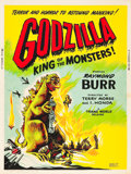 "Movie Posters:Science Fiction, Godzilla (Trans World, 1956). Poster (30"" X 40"").. ..."