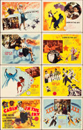 "Movie Posters:Musical, Cabin in the Sky (MGM, 1943). Lobby Card Set of 8 (11"" X 14"").. ...(Total: 8 Items)"