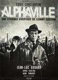 "Movie Posters:Science Fiction, Alphaville (Athos Films, 1965). French Grande (47"" X 63"").. ..."