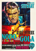 "Movie Posters:Hitchcock, Rope (Warner Brothers,1956). First Release Italian 2 - Foglio (39"" X 55"").. ..."