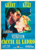 "Movie Posters:Hitchcock, To Catch a Thief (Paramount, R-1964). Italian 2 - Foglio (39"" X55"").. ..."